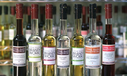 Whiskey and Brandy Tasting for Two or Four at Stone Barn Brandyworks (47% Off)