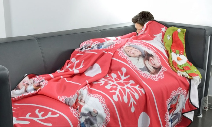 ArtsCow: Mini or Large Custom Photo Blanket from ArtsCow (Up to 51% Off)