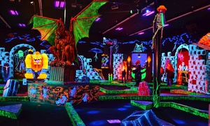 Monster Mini Golf: $20 for Four Rounds of Miniature Golf at Monster Mini Golf (Up to $39.96 Value)
