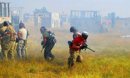 All-Day Paintball Outing for Two, Four or Eight at American Paintball Coliseum (Up to 52% Off)