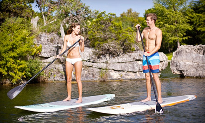 Aloha Paddleboards - Fort Worth: Four or Eight One-Hour Standup-Paddleboard Rentals from Aloha Paddleboards (Up to 62% Off)