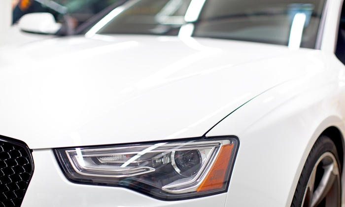American Collision - Original Town: Headlight Restoration or Windshield Replacement at American Collision (Up to 76% Off)