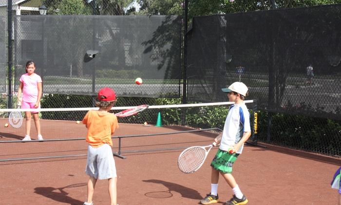 Tennis Connection - Van Dyke Farms: One Week of Kid's Full-Day Tennis Camp from Tennis Connection (65% Off)