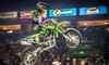 Kicker Arenacross Freestyle Motocross - The Budweiser Events Center: Kicker Arenacross Indoor Motorcycle Event on Friday, January 8 or Saturday, January 9, at 7:30 p.m.