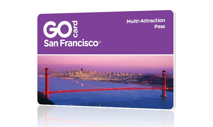 Go City Card:  Go San Francisco Card All-Inclusive 2-Day Pass includes admission to 25+ attractions for 2 days. Pay Nothing at Gate.