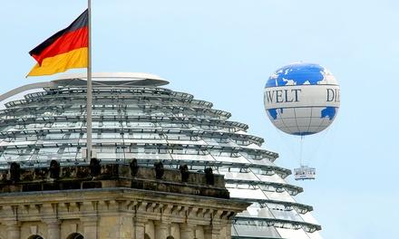 1 Ticket für den Berlin Weltballon Fesselballon in Mitte vom Air Service Berlin für 19,90 €
