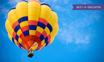 Hot Air Balloon Ride from Valley Ballooning (Up to 41% Off). Two Options Available