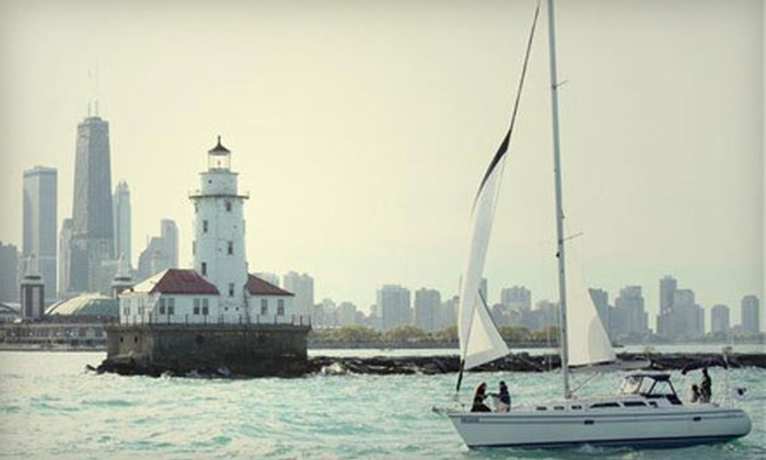 Chicago Sailboat Charters - Lincoln Park: Semiprivate Sailing Excursion for Two, Valid During Regular or Premium Season, from Chicago Sailboat Charters (52% Off)