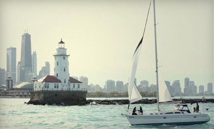 2.5 Hours of Semi-Private Sailing for Two During Regular Season (a $270 value)  - Chicago Sailboat Charters in