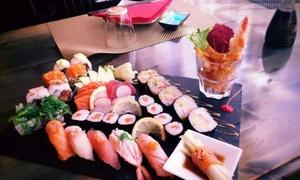 Fuji japanese restaurant Erba: Sushi Box d'asporto da 52 o 76 pezzi con antipasti e bevande da Fuji Japanese Restaurant Erba (sconto fino a 63%)
