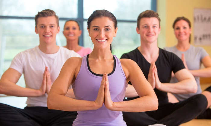 Yoga Mighty - Wentzville: Four Weeks of Unlimited Yoga Classes at Yoga Mighty (65% Off)