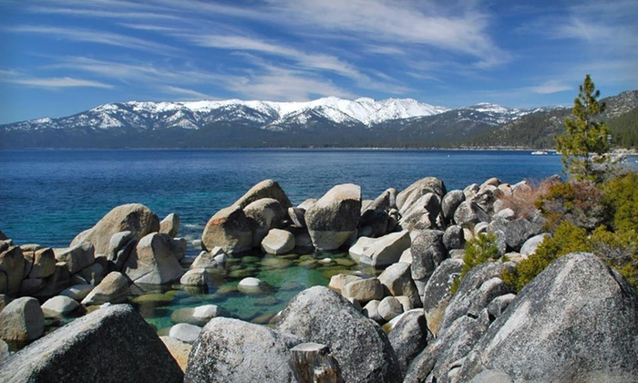 Lake Tahoe Vacation Resort - South Lake Tahoe, CA: Two-Night Stay with Food and Beverage Credit at Lake Tahoe Vacation Resort in California