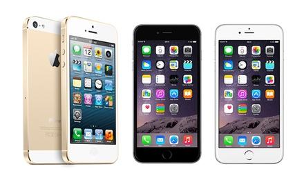 iPhone 5S, 6 ou 6 Plus recondicionado e disponível nas diferentes capacidades desde 369€