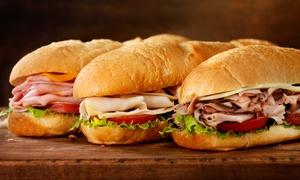 Croque-o-diles Diner: Großes Croque-Menü mit Softdrink nach Wahl für 2 oder 4 Personen bei Croque-o-diles Diner (bis zu 55% sparen*)