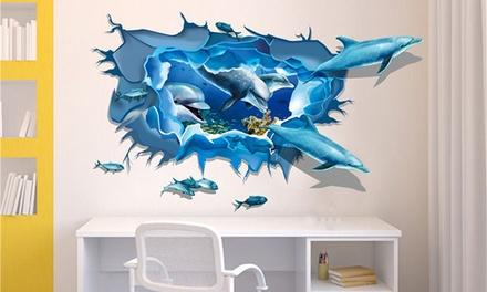 Adesivi 3D per parete disponibili in varie fantasie