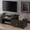 Contemporary Entertainment Center TV Stand with Two Drawers