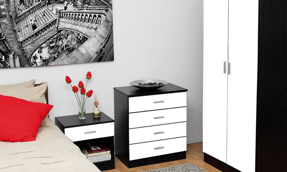 Gloss bedroom furniture groupon goods for White gloss bedroom furniture