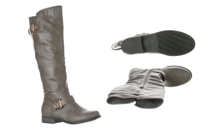 7619c76fda7d Riverberry Women s Mia Knee-High Riding Boots (Size 6.5)