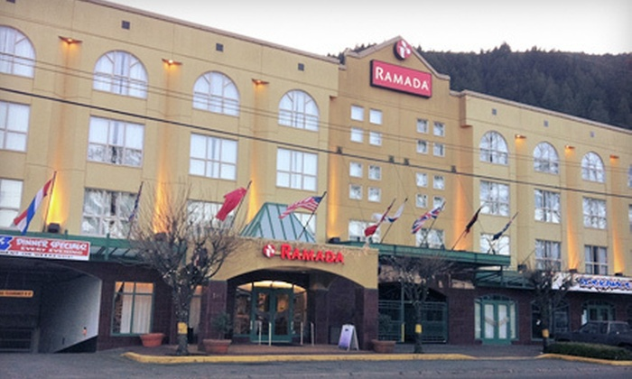 Ramada Harrison - Harrison Hot Springs: Two-Night Stay for Two Sunday–Thursday or Friday–Sunday at Ramada Harrison Hot Springs (Up to 46% Off)