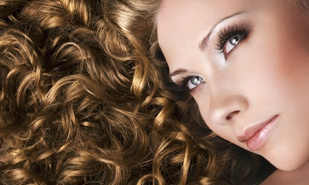 Haircut Package with Style and Optional Partial or Full Highlights at Sybil Salon & Spa (Up to 63% Off)
