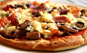 Mountain Mike's Pizza: Large Pizza Meals at Mountain Mike's Pizza (Up to 35% Off). Four Options Available.