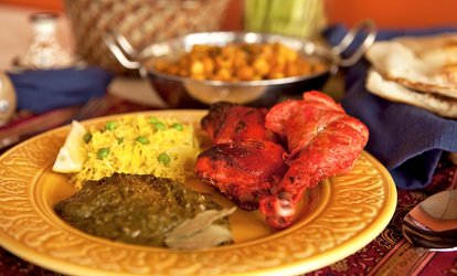 Up to 38% Off Indian Food at Taj Mahal Restaurant
