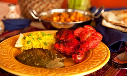 image for Buffet Lunch or Indian Dinner at Taj Mahal Restaurant (Up to 38% Off)