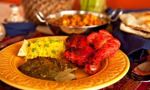 Taj Mahal Restaurant: Buffet Lunch or Indian Dinner for Two or Four at Taj Mahal Restaurant (Up to 45% Off)