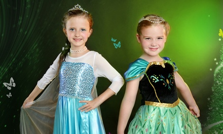 $38 for a Cartoon or Fairy Princess Makeover with Photoshoot at DeCharacter Image (worth $300). More Options Available