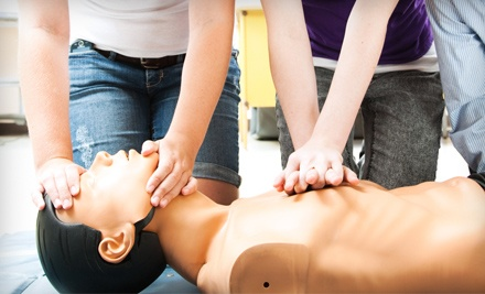 CPR Certification Class for One or Two at Red Emergency Prevention Services (Up to 63% Off)