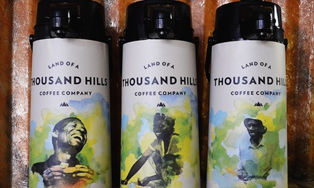 $11 for $20 Worth of Coffee and Cafe Fare at Land of A Thousand Hills Coffee Company- Daleville Shop ($20 Value)