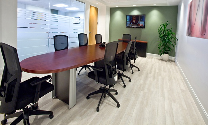 Crown Center Executive Suites - North Fort Lauderdale: One-, Two-, or Four-Hour Rental of an Office Space or Meeting Room at Crown Center Executive Suites (Up to 52% Off)
