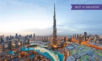 Fast Track Ticket with a Treat and Souvenir with At the Top Burj Khalifa (59% off)