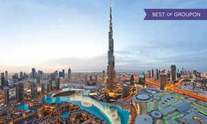 At The Top Burj Khalifa: Fast Track Ticket with a Treat with At the Top Burj Khalifa