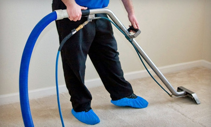 Pro Steamers - Pro Steamers: One Hallway and Three or Five Rooms of Carpet Cleaning from Pro Steamers (Up to 61% Off)