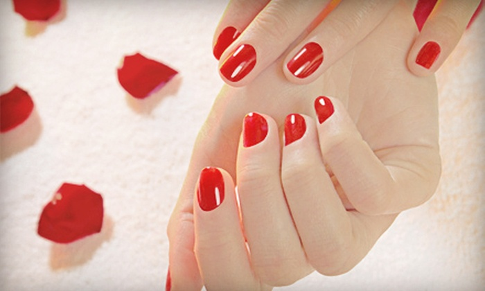 Heather Bailey at Haute-Monde - Linden Wood: One or Three Shellac Manicures with Spa Pedicures from Heather Bailey at Haute-Monde (Up to 53% Off)
