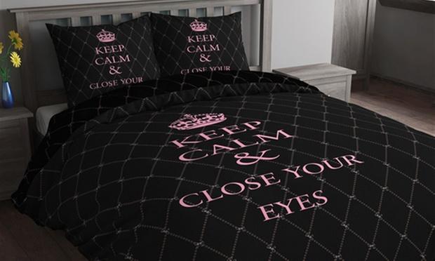 parure de lit satinée | groupon shopping
