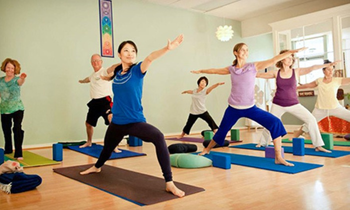 The Yoga Center - Pacific: 10 or 15 Yoga Classes or One Month of Unlimited Classes at The Yoga Center (Up to 83% Off)