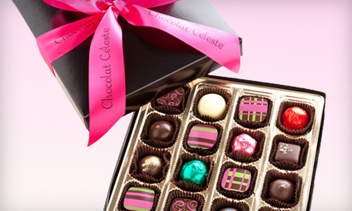 Chocolat Celeste - Hamline - Midway: Box of 16 or 32 Handmade Artisanal Truffles and Bonbons at Chocolat Celeste in St. Paul (Up to 57% Off)