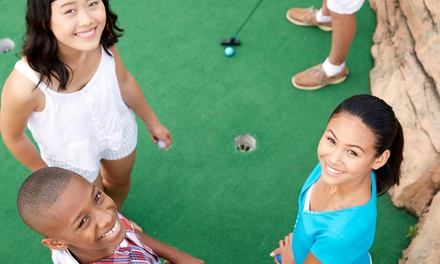 One Round of Mini Golf for Two or Four at Thunder Rapids (50% Off)