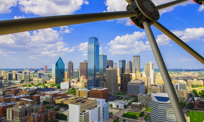 Reunion Tower - Downtown Dallas: $22 for Admission for Two to Reunion Tower ($32 Value)