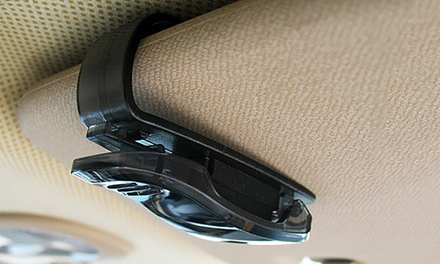 Zonnebrilhouder voor in de auto