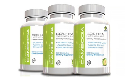 Buy 2 Get 1 Free: Garcinia Cambogia with 60% HCA