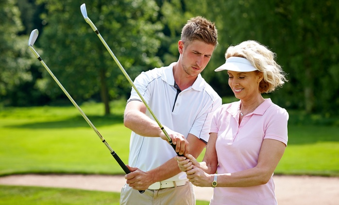 $39 for a One-Hour Private Golf Lesson with a PGA Professional at Croker Golf Academy (Up to $200 Value)