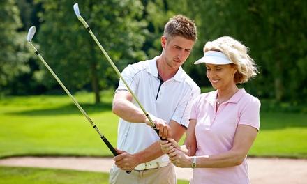 Fino a 12 lezioni di golf a 19,90euro