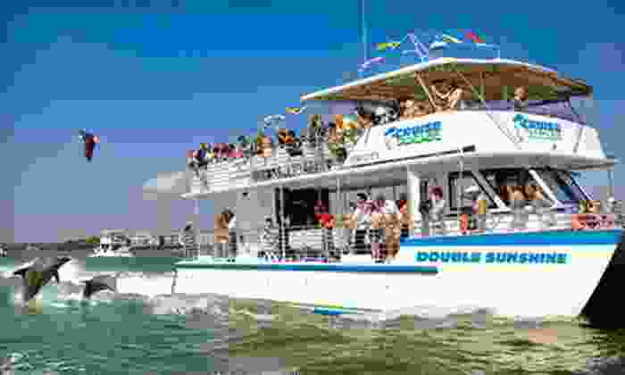 Pure Naples - Downtown Naples: $17 for a 90-Minute Sunset or Dolphin-Watch Cruise for One from Pure Naples (Up to $35 Value)