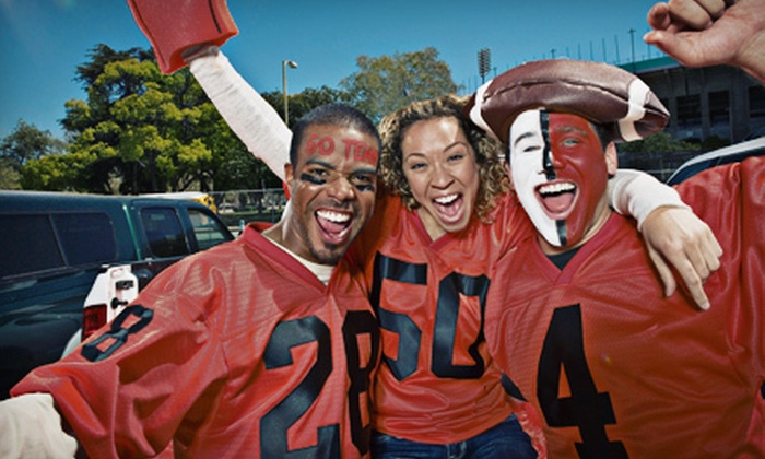 Premier Limousine - Heritage Hills East: $435 for Ultimate Fan Tailgating Package for Up to Eight from Premier Limousine ($875 Value). Six Games Available.