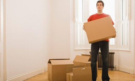 Three Hours of Moving Services with Two Movers and One Truck from New Caney Movers (50% Off)