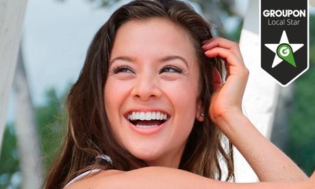 1 o 2 sesiones de blanqueamiento dental led con revisión y limpieza bucal desde 49,90 €