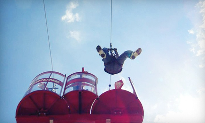 Odyssey Fun World - Tinley Park: $18 for One Zipline Valid Any Day or Sunday–Friday and Unlimited Rides at Odyssey Fun World in Tinley Park ($36 Value)